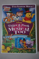 Disney Tigger & Pooh and a Musical Too DVD Movie in Plainfield, Illinois