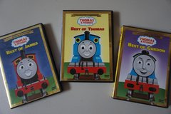 Thomas and Friends 3 Pack Collectors Edition DVD Movies in Plainfield, Illinois