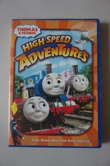 Thomas and Friends High Speed Adventures DVD Movie in Oswego, Illinois