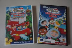 Disney Little Einsteins 2 pack DVD Movies in Plainfield, Illinois