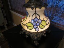 VINTAGE  DECORATORS GLASS LAMP in Yorkville, Illinois