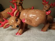 5 Vintage Ceramic Reindeer in Oswego, Illinois