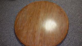 oak table (with base) in Shorewood, Illinois