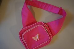Pink Butterfly Shoulder Purse in Chicago, Illinois