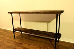 Pipe Leg Foyer Table, Couch Table, TV Stand in Kingwood, Texas