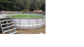 Intex Pool and pumps 22 feet round and 52 inches deep in Beaufort, South Carolina