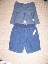 2 Pairs Girls Shorts - New With Tags in Palatine, Illinois