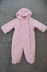 Baby snowsuit/pramsuit size 0-3 mths in Lakenheath, UK