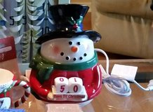 Scentsy snowman countdown in Glendale Heights, Illinois