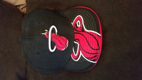 Miami Heat Fitted Hat. in Beaufort, South Carolina