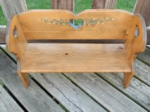 Wood Doll Bench in Morris, Illinois