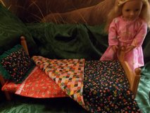 "18"" Doll 6 pc Bedding Set in Colorado Springs, Colorado"