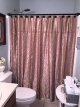 Pintucked Shower Curtain with Beads in Columbus, Georgia