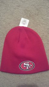 San Francisco 49ers red hat new in Naperville, Illinois