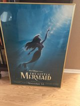 The Little Mermaid 1997 Re-Release Movie Poster Double Sided Original - Disney Princess in Oceanside, California