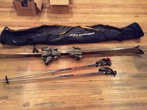 Pair of 6ft Super Volant Skis With A Pair Of 50in Polls And Bag in Alamogordo, New Mexico