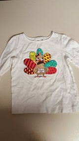 Thanksgiving shirt 4T in Plainfield, Illinois