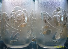 8 Frosted flower mugs in Yucca Valley, California