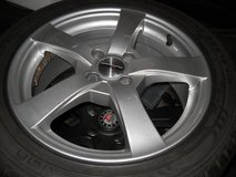 4x Mini-Winterwheels (Aloys + Nokian Wintertyres runflat) good condition in Baumholder, GE
