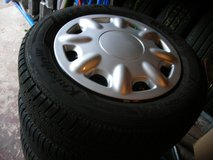 Set of  VW-Golf5+6, VW Touran Winterwheels good condition lot of tread in Baumholder, GE
