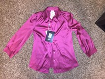Armani Collezioni women's Silk shirt New With tags in Baytown, Texas