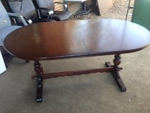 Large extending old charm table in Lakenheath, UK