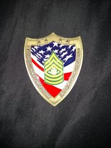 Coin from Sergeant Major of the Army in Fort Rucker, Alabama