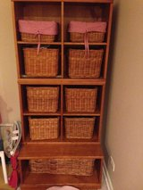 Pottery Barn Kids wall cubbie storage unit in Naperville, Illinois