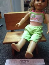 Large doll desk or display in Morris, Illinois