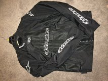 Alpinestars riding jacket (with pads) in Travis AFB, California