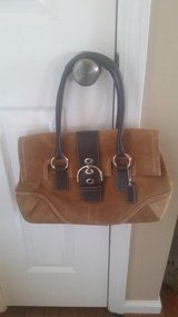 AUTHENTIC Coach Suede Soho Satchel in Fort Campbell, Kentucky