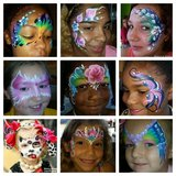 Face painting and balloon twisting tonight at Jersey Mike's in Lawton, Oklahoma