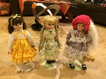 Vintage porcelain musical  dolls in Morris, Illinois