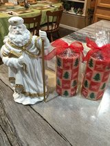 Santa Musical Figure & Candles in Clarksville, Tennessee