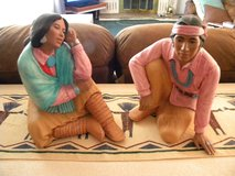 Large Indian Statue Figurines in Alamogordo, New Mexico
