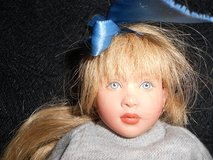 Kish dolls, clothing in carrying case in Schaumburg, Illinois
