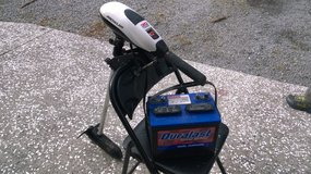 Trolling Motor and Marine Battery in Beaufort, South Carolina