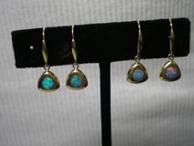 New 14 kt Yellow Gold Opal Earrings in Colorado Springs, Colorado