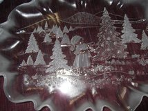 MIKASA CHRISTMAS STORY PLATTER   NEW IN BOX in Cherry Point, North Carolina