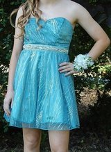 Eighth Grade Dance Formal Dress- Blue in Moody AFB, Georgia