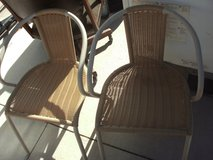 art deco chairs in Yucca Valley, California