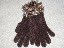 ***BRAND NEW***VERY PRETTY Ladies Feather Chenille Gloves*** in Houston, Texas