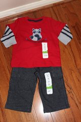 ***BRAND NEW***Mischief Maker Shirt And Pants***12 MTHS.NWT in Kingwood, Texas