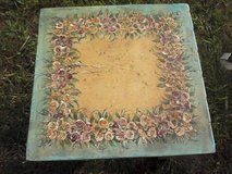 Beautiful hand painted square table in Camp Lejeune, North Carolina