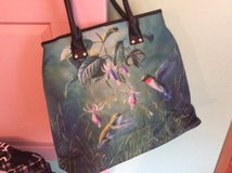 Beautiful bag with hummingbirds in Byron, Georgia