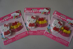 Hello Kitty Dress up Eraser Set in Chicago, Illinois