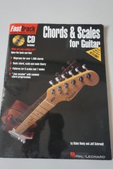 Fast Track Chords and Scales for Guitar Book with CD included in Shorewood, Illinois