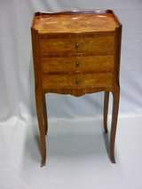 night stand with inlaid work in Ramstein, Germany