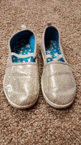 Silver sparkly shoes in Plainfield, Illinois