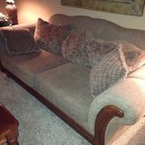 Sofa and club chair in Aurora, Illinois